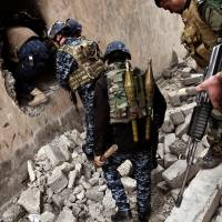 Iraq forces using drones to hit Islamic State targets in Mosul's Old City as combat intensifies