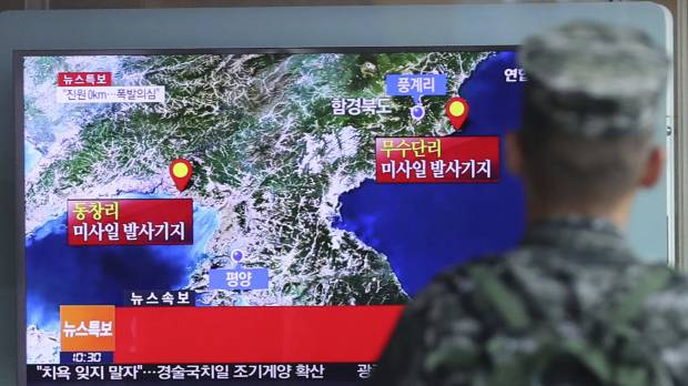 Imagery shows gathering at North Korean nuclear test site not seen since 2013 atomic blast