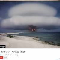 Vintage U.S. nuclear test films declassified and publicized