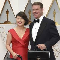 PwC pair blamed for historic Oscars flub banned from Academy Awards