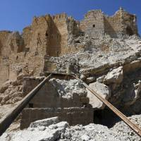 Russia-backed Syria forces fighting Islamic State enter Palmyra