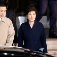 Park returns home after South Korea prosecutors grill ousted leader over corruption allegations