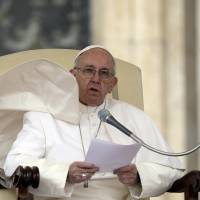 Europe's migrant, refugee crisis 'biggest tragedy' since WWII, pope says