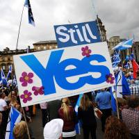 Scotland takes a step toward new independence vote