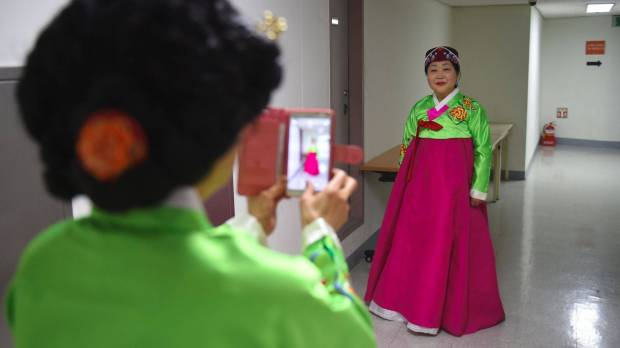 South Korea's aging cheerleaders offer glimpse of world's longest-living women