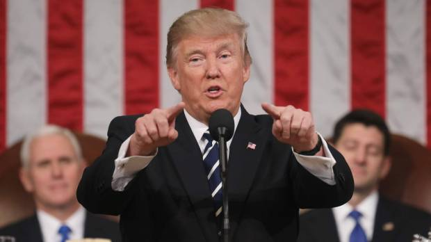 Addressing Congress, Trump says it is 'time to join forces' to fix problems