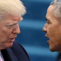 Offering no evidence, Trump claims Obama wiretapped him during campaign