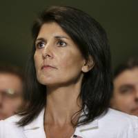 U.S. leads boycott of U.N. talks on nuclear weapons ban as Haley points to Pyongyang