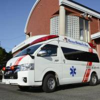 A new app will be introduced to help judge whether calling an ambulance is really necessary.   KYODO