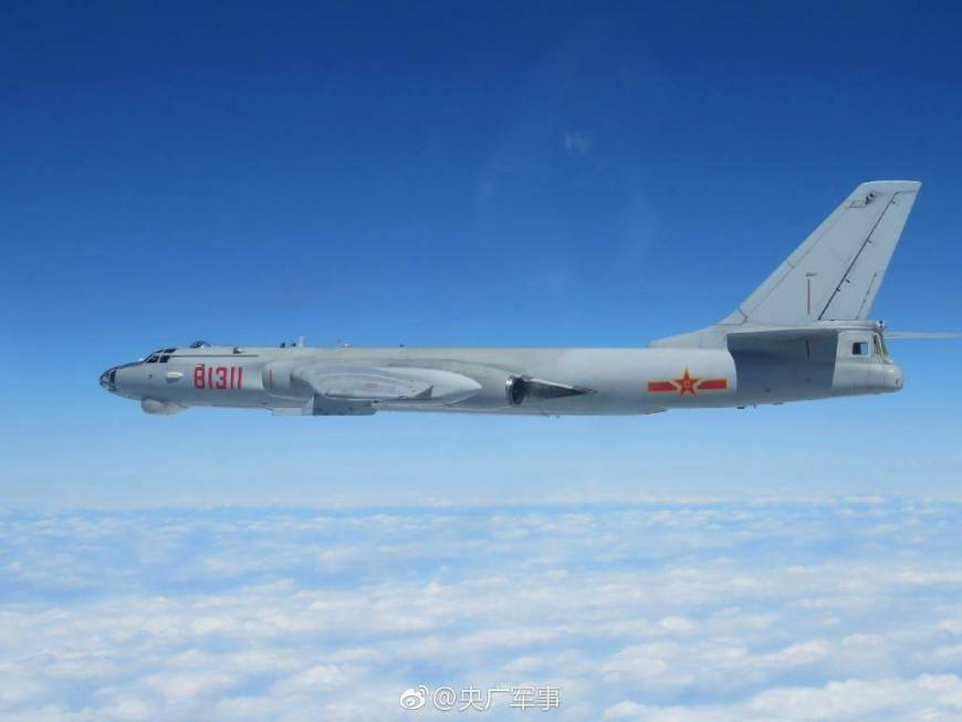 ASDF scrambles jets as China sends more fighters, bombers through Miyako Strait as part of large drill