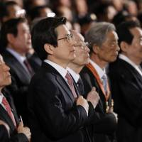 South Korean leader calls on Japan to face historic wrongs during Independence Movement anniversary