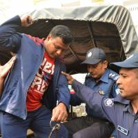 Bangladesh court hands death sentence to five men for 2015 drive-by slaying of Japanese farmer
