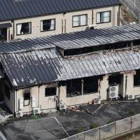 Arson suspect arrested after three die in blaze at Ehime home for disabled