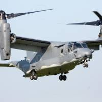 U.S. to delay deploying Ospreys to Yokota base by up to three years