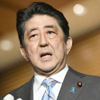 Abe Cabinet's support rate dips six points to 55.7% amid ongoing Moritomo school scandal: poll