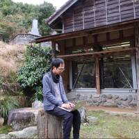 Yoichi Dan, a software engineer, works in the mountain town of Kamiyama, Tokushima Prefecture. | BLOOMBERG