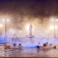 A spa in Budapest.   ISTOCK