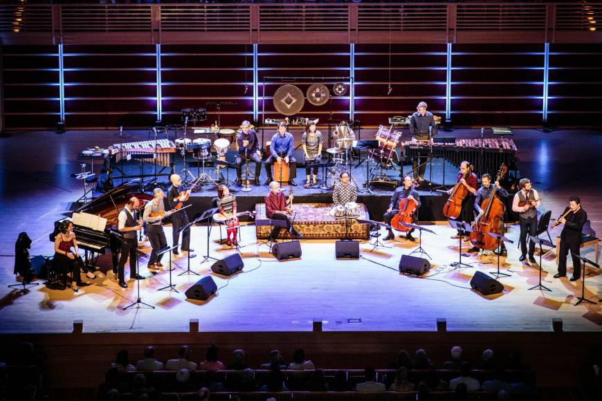 Yo-Yo Ma and Silk Road Ensemble build bridges between cultures one note at a time