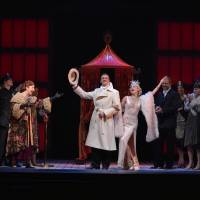 Happy returns: 'Singin' in the Rain' star Adam Cooper (center) says one of the things he likes most about the musical is how good it makes the audience feel. | © AKIHITO ABE