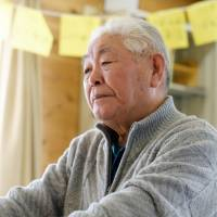 Noboru Takano now lives with his wife in temporary housing in Minamisoma, Fukushima Prefecture. | SHUN SAITO