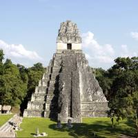 Mayan civilization: Temple I, also known as the Temple of the Great Jaguar, is located in northern Guatemala's Tikal National Park. | AP