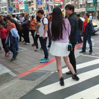 The streets of Taiwan's cities present an eclectic range of fashion and style.   KAORI SHOJI