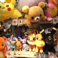Examples of Japanese pop culture are everywhere in Taiwan's shopping districts. | KAORI SHOJI