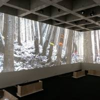 A video installation as part of 'Physicatopia' | PHOTO BY TAKUYA MATSUMI, CONTACT GONZO