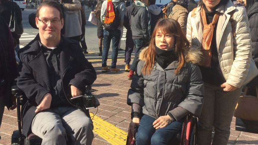 'Barrier-free' tour of Tokyo offers a vision of what could be
