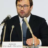 James Rushton believes the J. League has the potential to make an impact in international markets. | KYODO