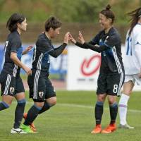 Hasegawa bags brace in Nadeshiko Japan's victory over Iceland at Algarve Cup