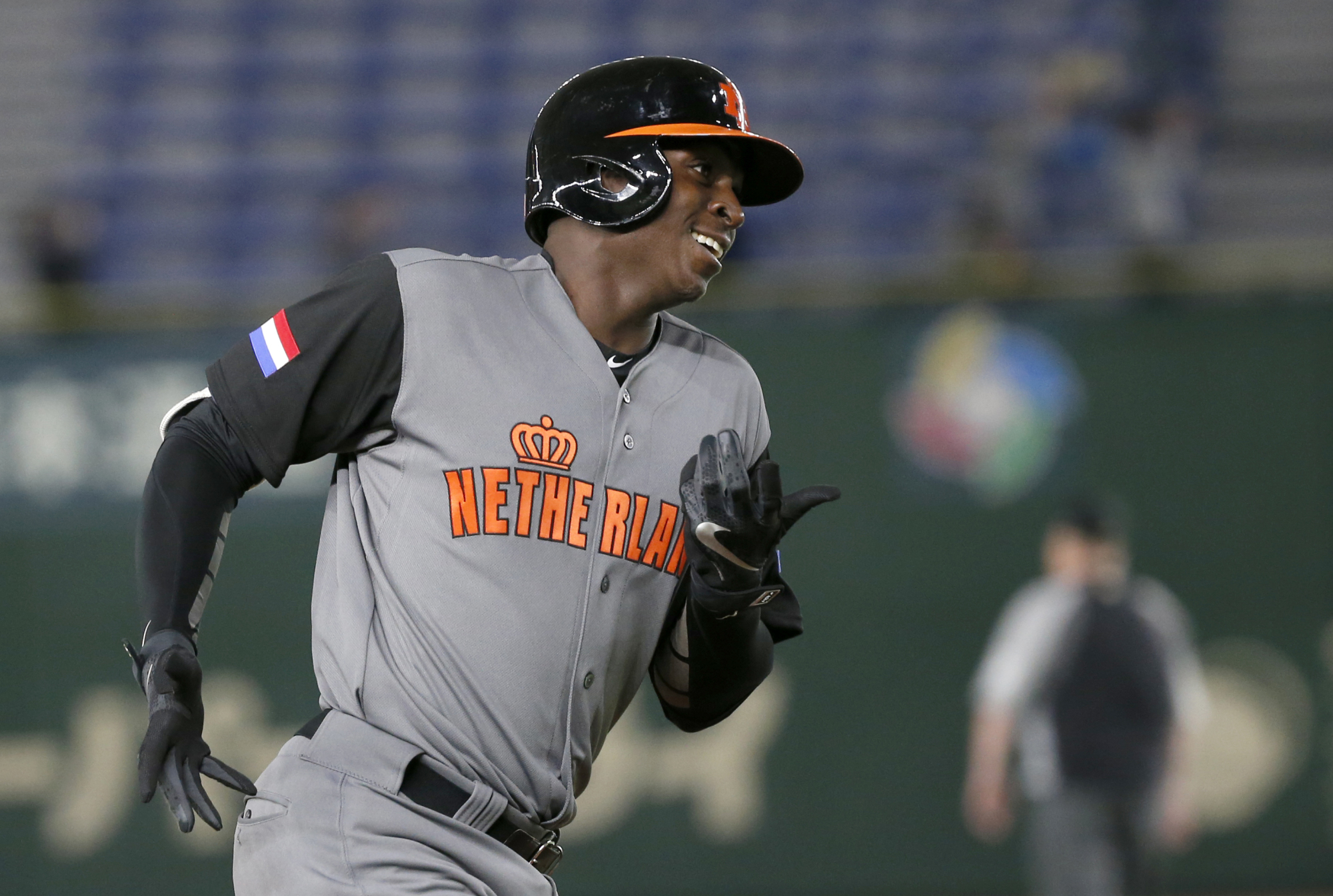 Didi Gregorius is playing as a designated hitter on the Netherlands' 2017 World Baseball Classic team despite playing as the regular shortstop for the New York Yankees. | AP