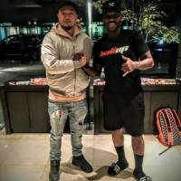 Larry 'Bone Collector' Williams and promoter Zentetsu Kanai worked together to set up the Bone Collector Skill Camp Japan earlier this month in Osaka and Kobe. | LARRY WILLIAMS