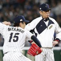 Pitching coach Gondo contributing to Japan's success at WBC