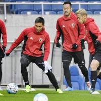 Honda confident of regaining Japan place despite Kubo's rise