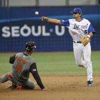Israel improves to 3-0 at WBC