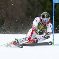 Skier Hirscher breaks record with sixth World Cup title