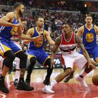 Warriors lose Durant to injury, lose game to Wizards