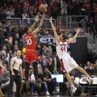 Raptors outduel rival Wizards