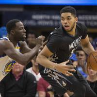 T-Wolves deal Warriors latest loss