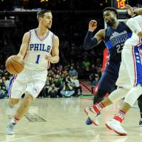 76ers jump on Mavericks in third en route to rout