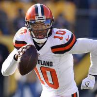 Browns release QB Griffin