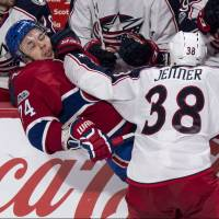 Canadiens beat Blue Jackets in overtime