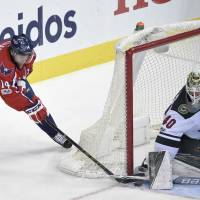 Ovechkin ends goal drought in win