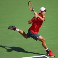 Nishikori ousts Young to reach BNP Paribas Open quarterfinals