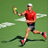 Sock surprises Nishikori in BNP Paribas Open quarterfinals