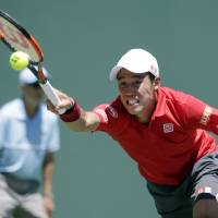 Nishikori moves into Miami Open quarterfinals