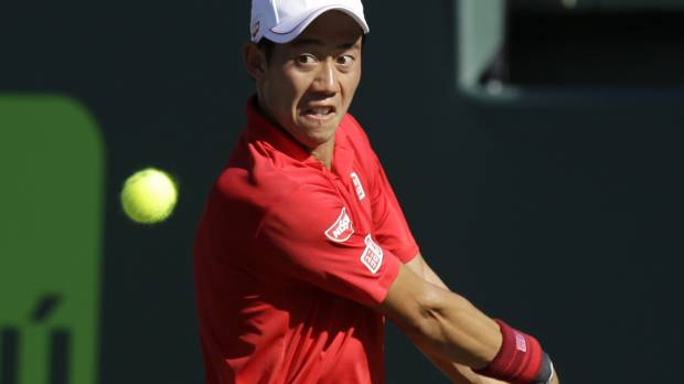 Fognini eliminates Nishikori in quarters