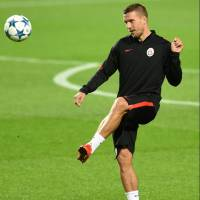 Vissel announce acquisition of German striker Podolski