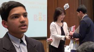 [VIDEO] Interview with Shantanu Edgaonkar, winner of the eighth Japan Times Bee